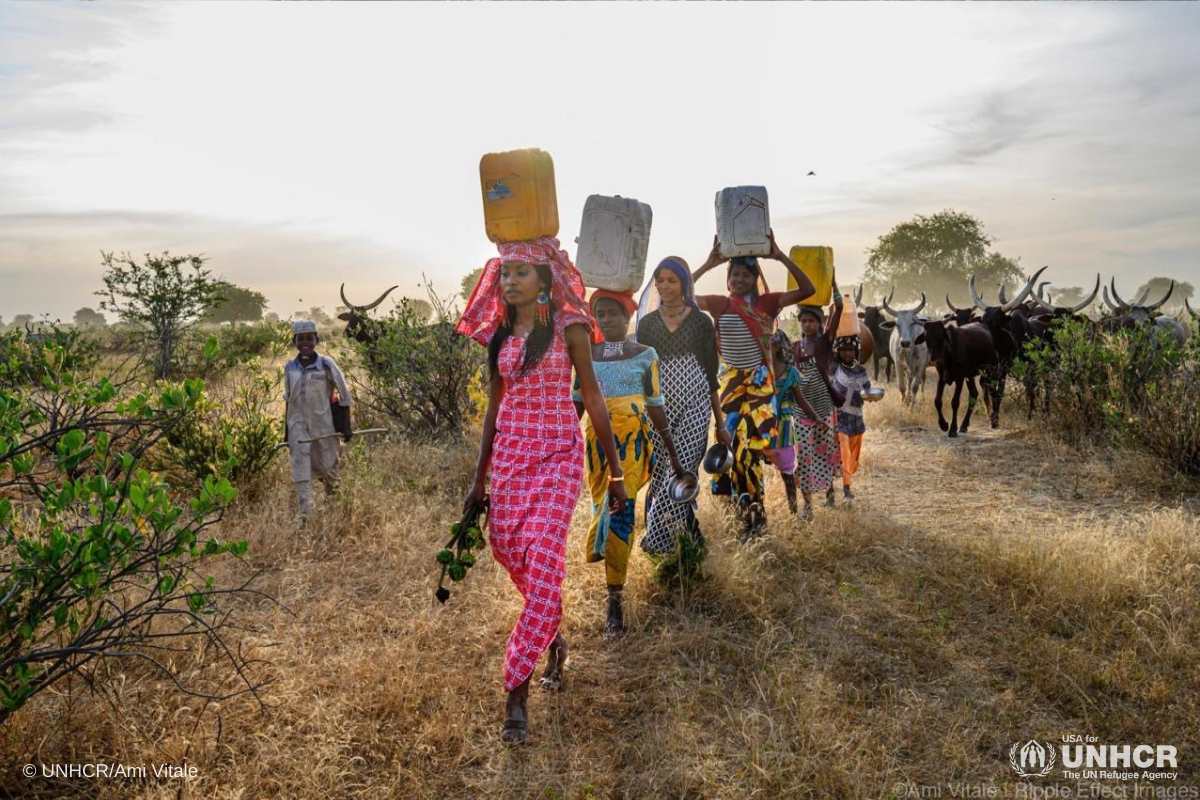 sahel-collecting-water